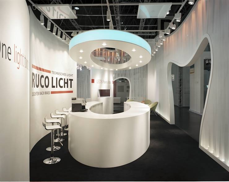 messe messestand ruco licht von matthiasfranz. Black Bedroom Furniture Sets. Home Design Ideas