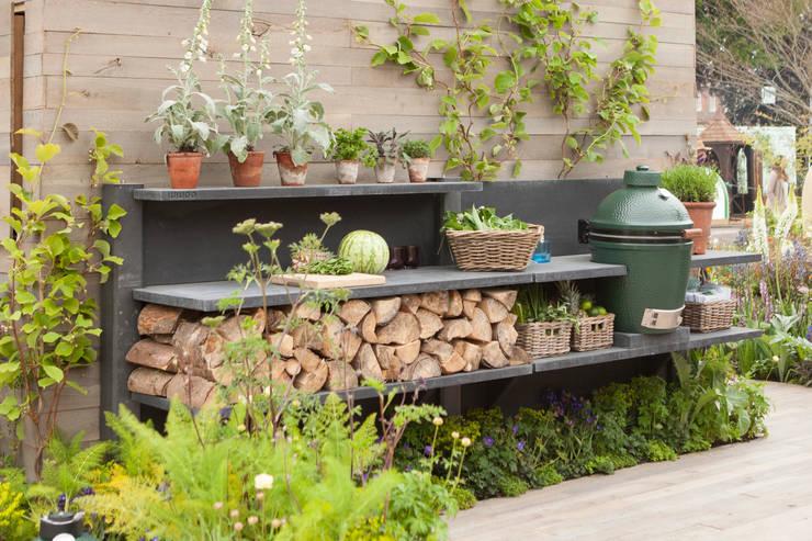 landhausstil Garten von NewLook Brasschaat Keukens