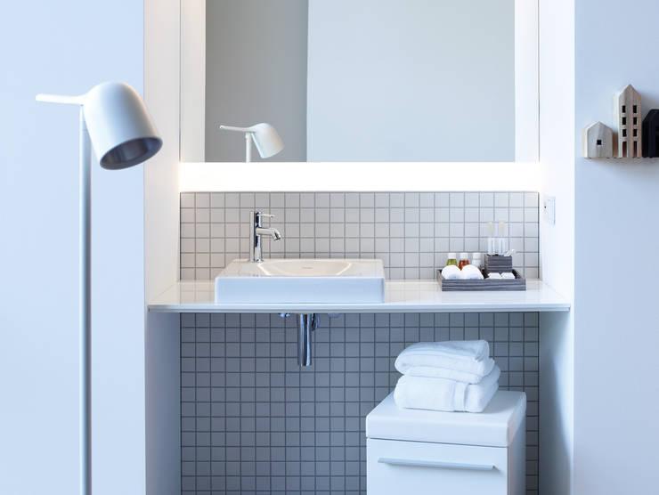 Inspiratie de beste opbergoplossingen voor in een kleine badkamer - Foto kleine moderne badkamer ...