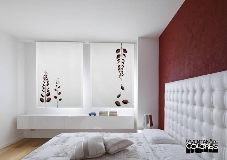 Cortinas modernas y sorprendentes - Estores habitacion matrimonio ...