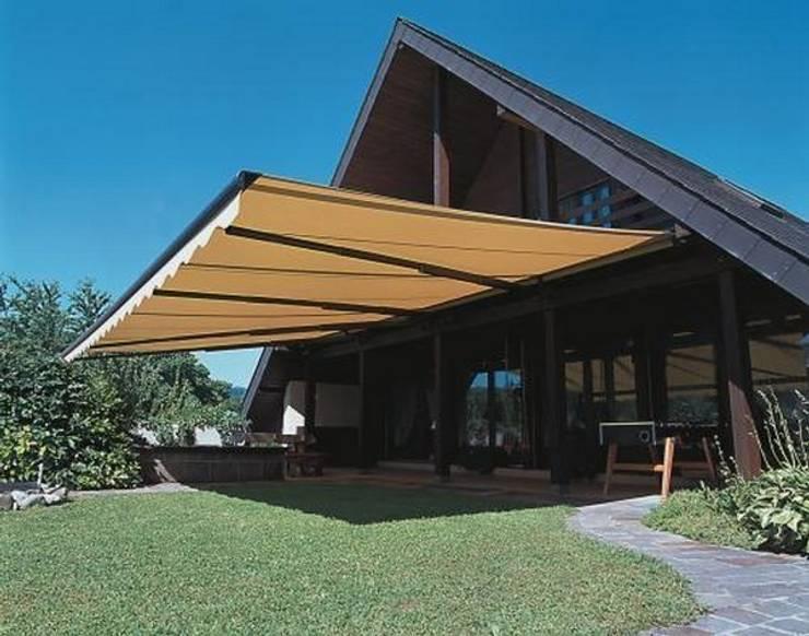 7 fant sticas ideas de toldos para tu patio y terraza for Toldos para estacionamiento