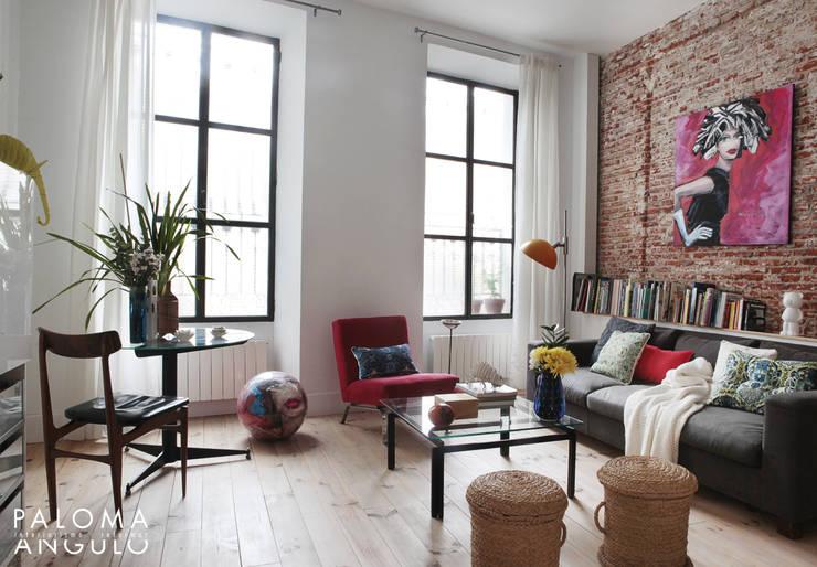 10 salas de estar peque as y bonitas - Interiorismo de salones ...