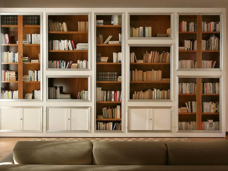 5 tipologie di libreria a muro for Libreria a muro bianca