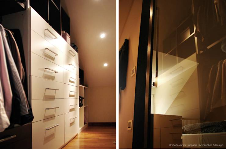 Closets modernos por Studio Architettura Pappadia