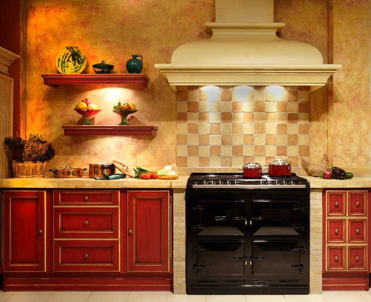 Cocina de estilo translation missing: co.style.cocina.rustico por Gamahogar