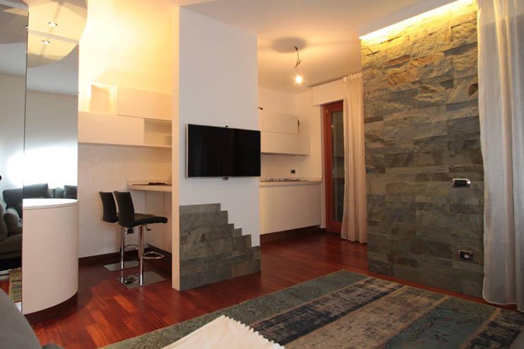 idee per dividere soggiorno e cucina  canlic for ., Disegni interni