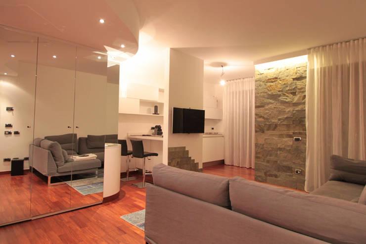 Salone Cucina. Fabulous Cucina E Salone Open Space Finest Cucina E ...