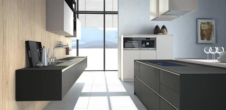 die 5 sch nsten schwarzen k chen. Black Bedroom Furniture Sets. Home Design Ideas