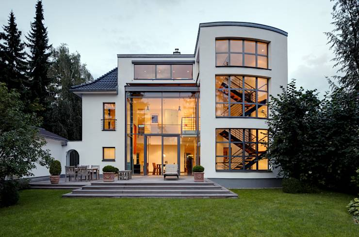 11 sensationele huizen met veel glas for Moderne aanbouw aan klassiek huis