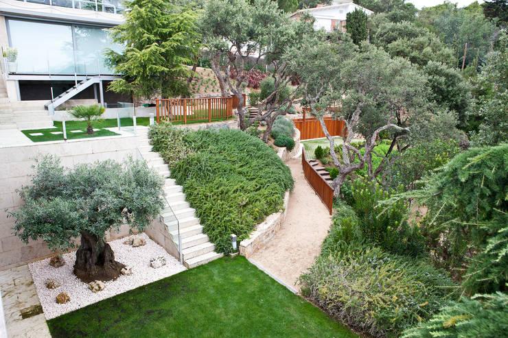 Come delimitare un giardino - Muretti da giardino ...