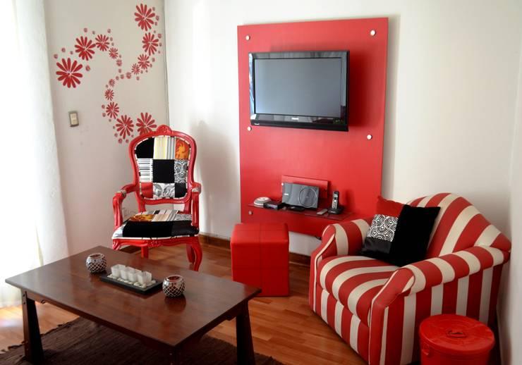 20 ideas que har n que tu sala se vea moderna y maravillosa - Tapices para sofas ...