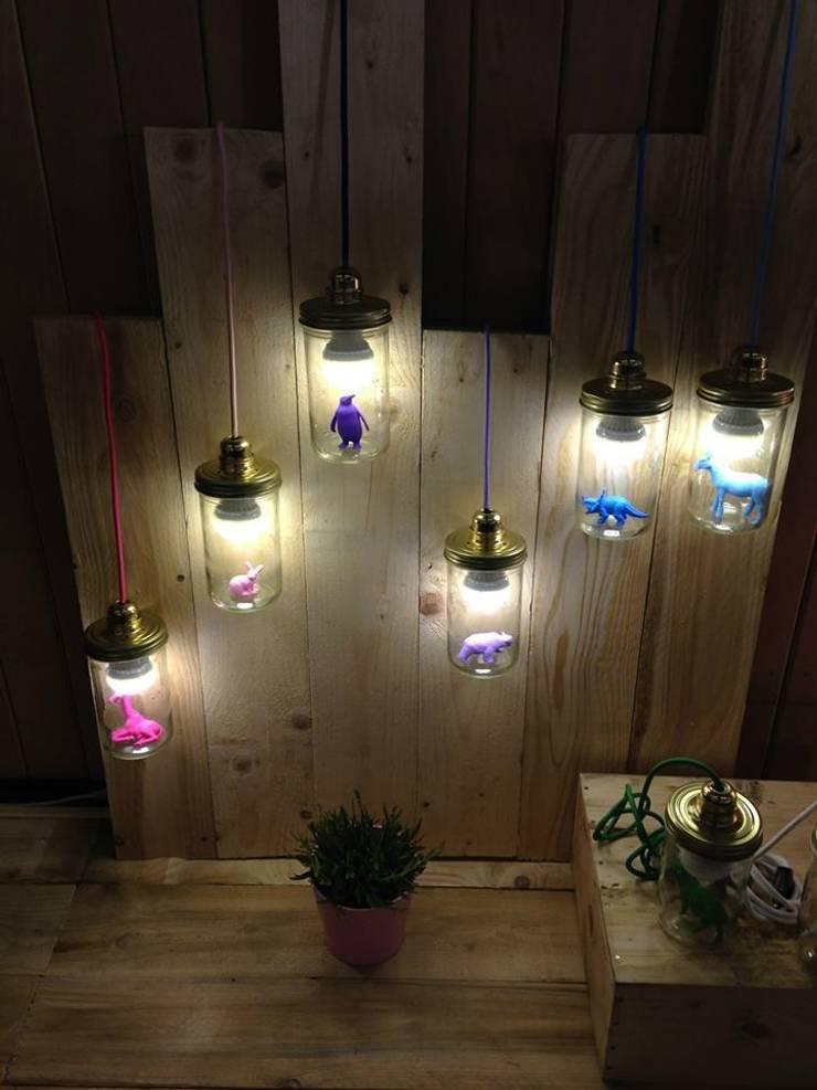 la lampe la t te dans le bocal par la t te dans le bocal homify. Black Bedroom Furniture Sets. Home Design Ideas