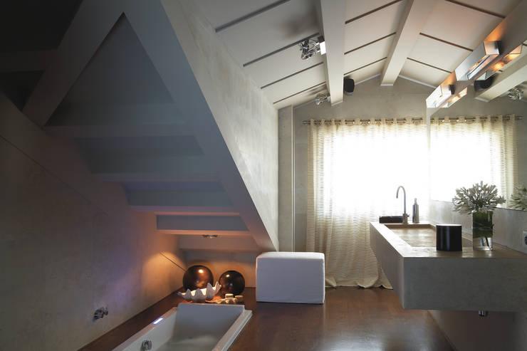 Ideas para la buhardilla y los espacios abuhardillados - Iluminacion para techos bajos ...