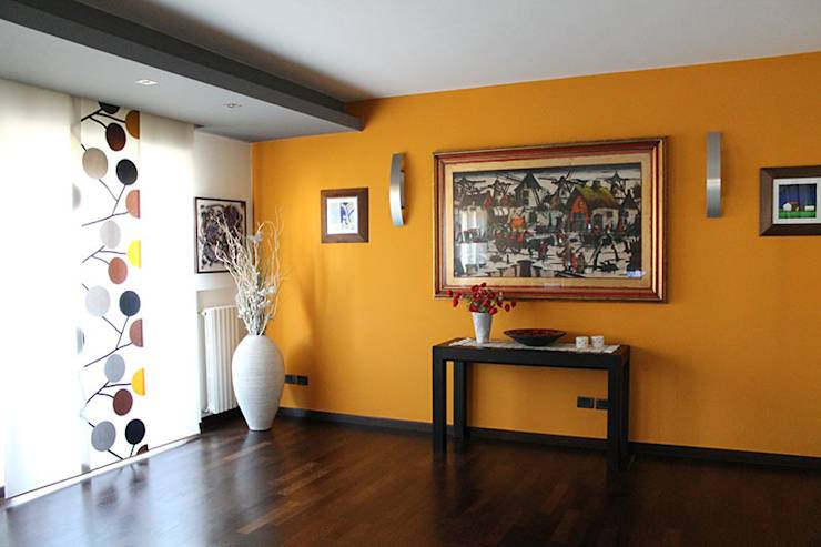 Idee Pittura Soggiorno Moderno : Rimodernare il soggiorno colori per ...