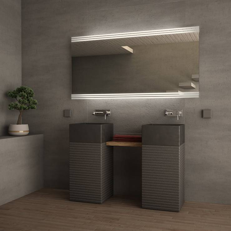 badspiegel bathroom mirrors von lionidas gmbh homify. Black Bedroom Furniture Sets. Home Design Ideas