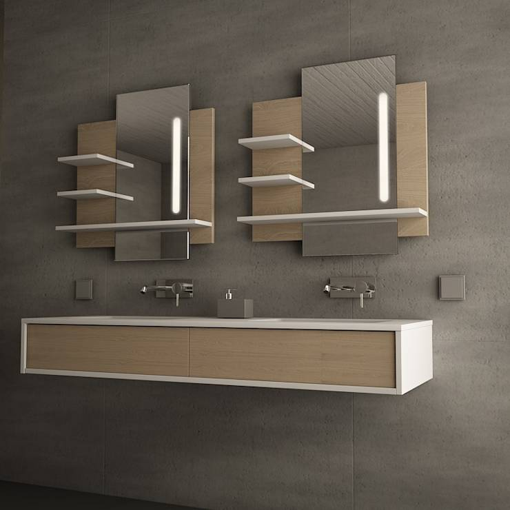 ausgefallene badm bel innenarchitektur und m belideen. Black Bedroom Furniture Sets. Home Design Ideas