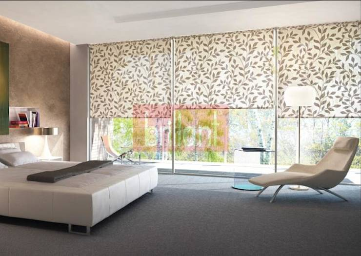 moderne gardinen f r euer individuelles wohnzimmer. Black Bedroom Furniture Sets. Home Design Ideas