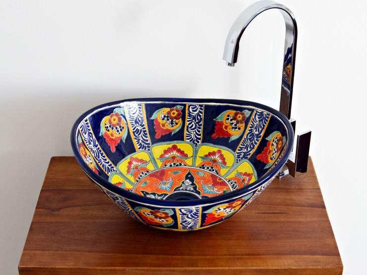 traumhafte design waschbecken aus mexiko oval mex 7 von. Black Bedroom Furniture Sets. Home Design Ideas