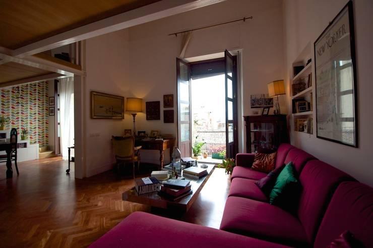Come abbinare l arredamento antico e moderno - Arredamento studio casa moderno ...