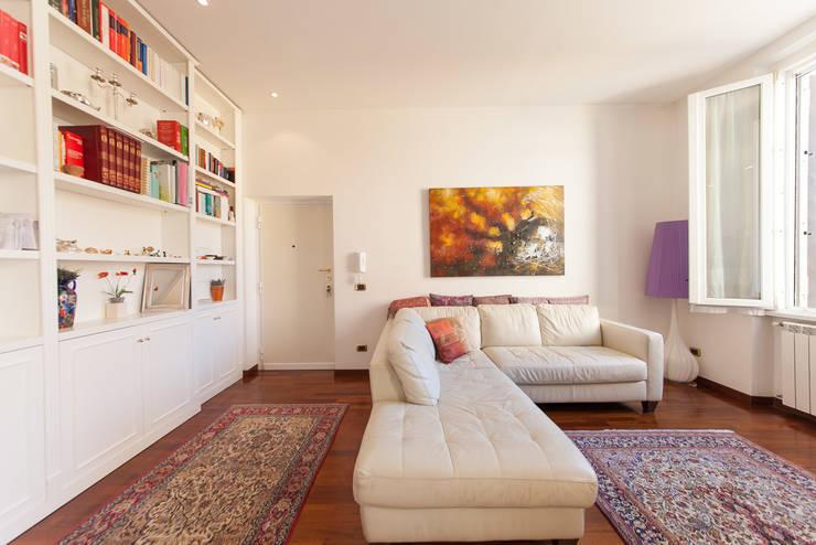 Come arredare un soggiorno moderno for Foto di soggiorni arredati