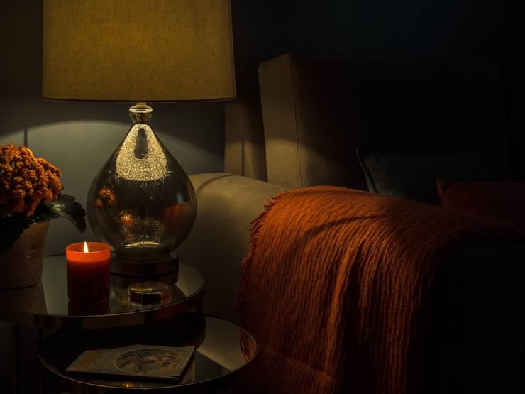 Sala De Estar Sintra ~ Apartamento em Sintra Salas de estar modernas por MUDA Home Design