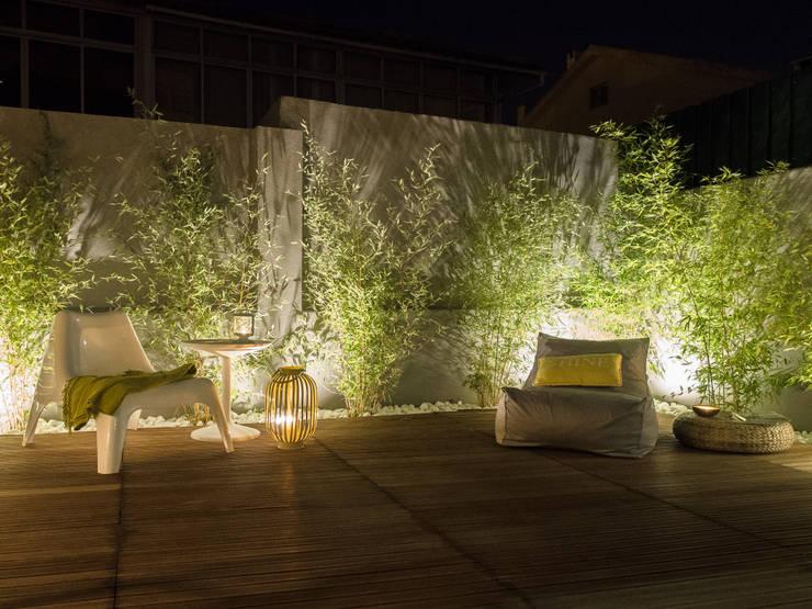19 ideas para el patio con un resultado espectacular On ideas para iluminar un patio