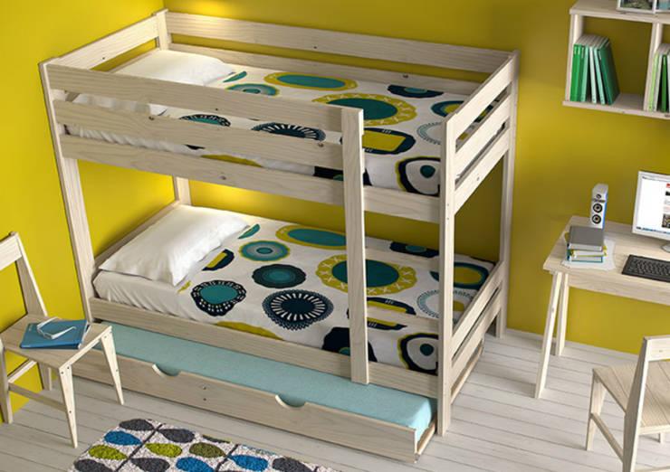 Muebles de madera maciza y fabricación local muy asequibles de