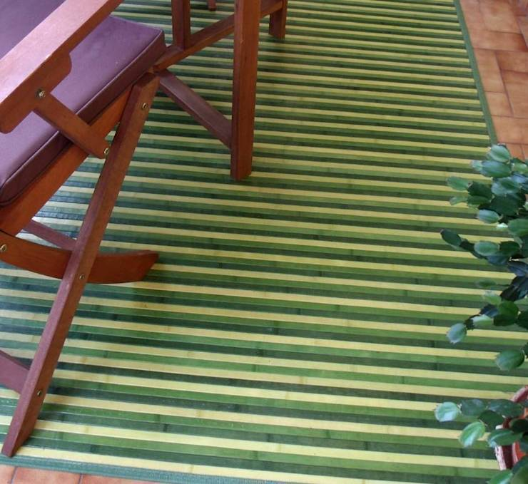 Vestir suelos con alfombras de bamb de latiendawapa homify - Alfombras para terrazas ...