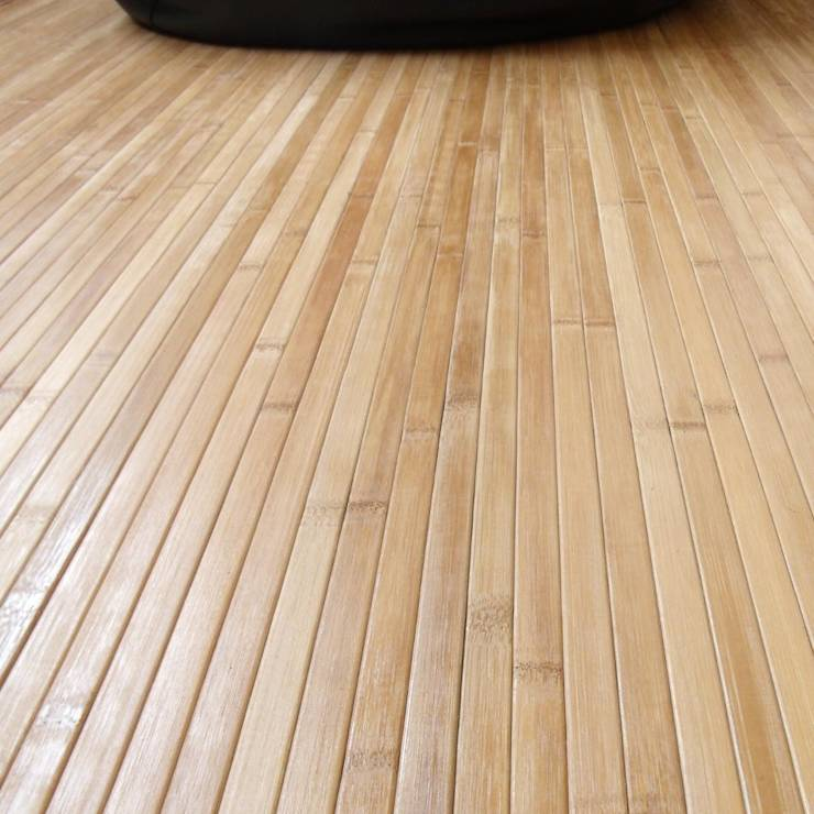 Vestir suelos con alfombras de bamb de latiendawapa homify - Alfombras de bambu a medida ...