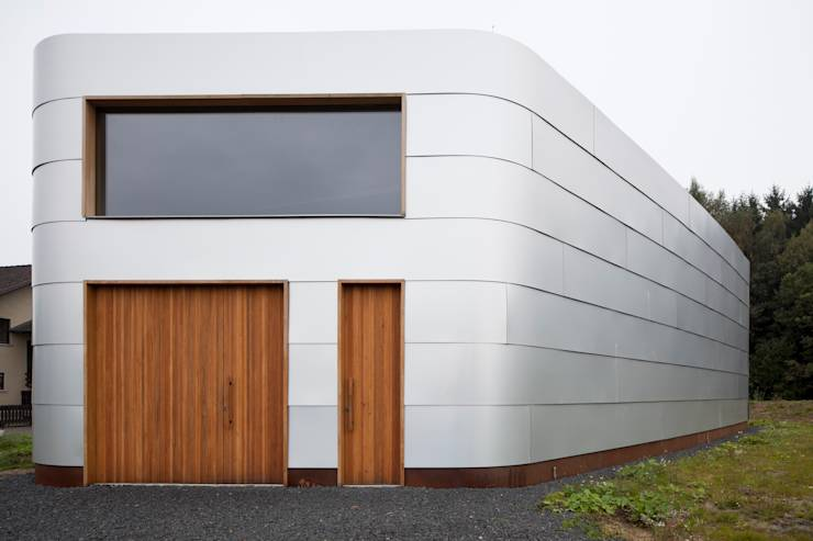 7 fassaden ideen f r kleine h user. Black Bedroom Furniture Sets. Home Design Ideas