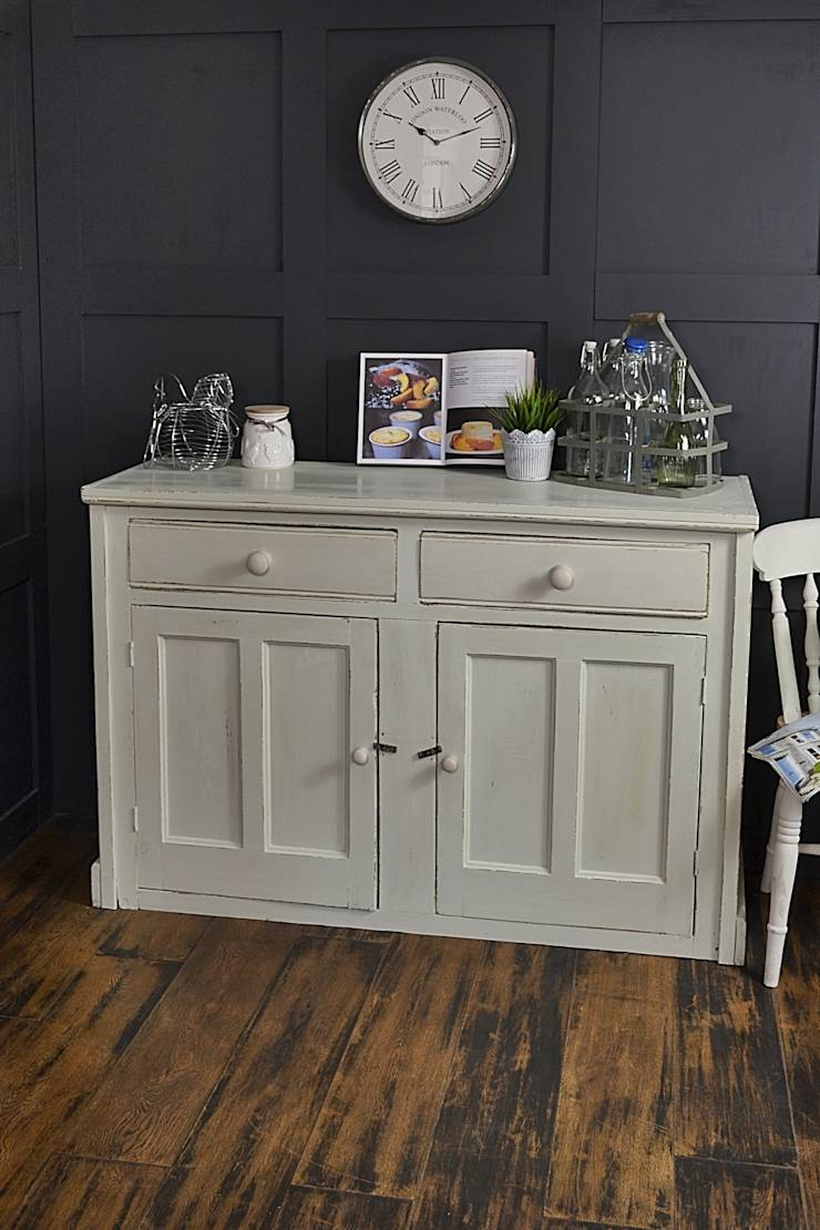 2 door pastel green shabby chic farmhouse cupboard by the treasure trove shabby chic vintage. Black Bedroom Furniture Sets. Home Design Ideas
