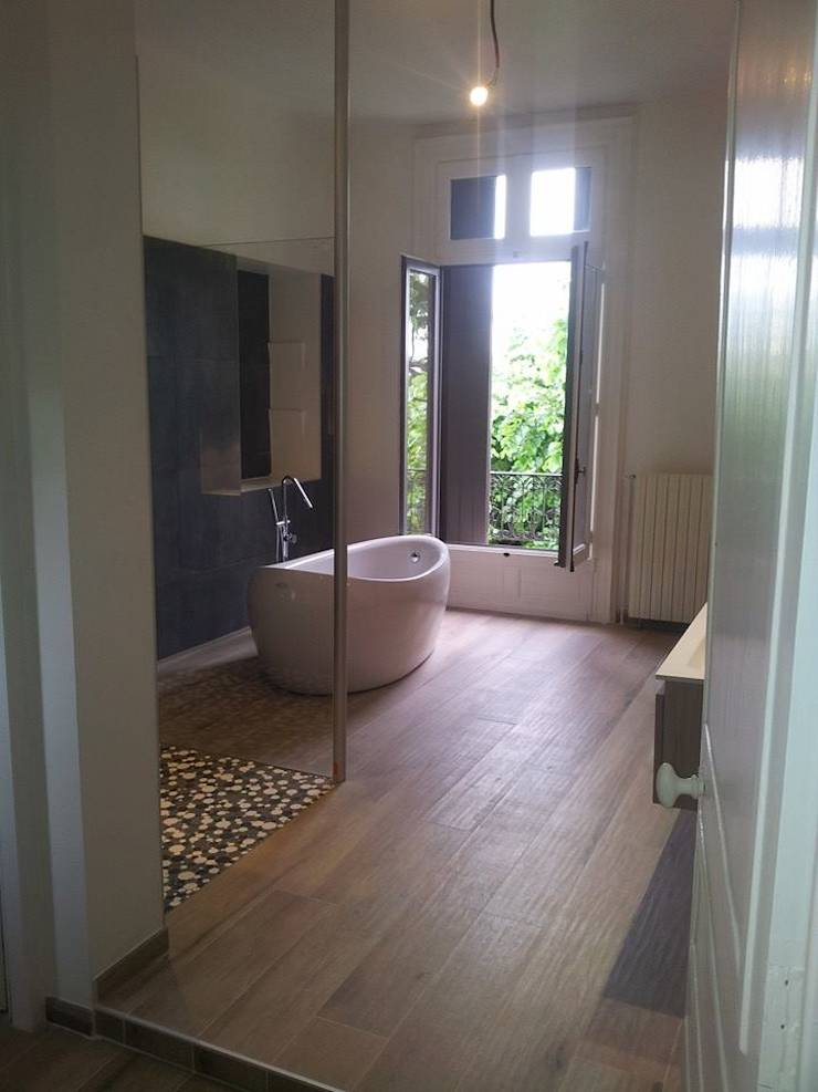 R novation maison de maitre par archidco homify for Renovation maison de maitre