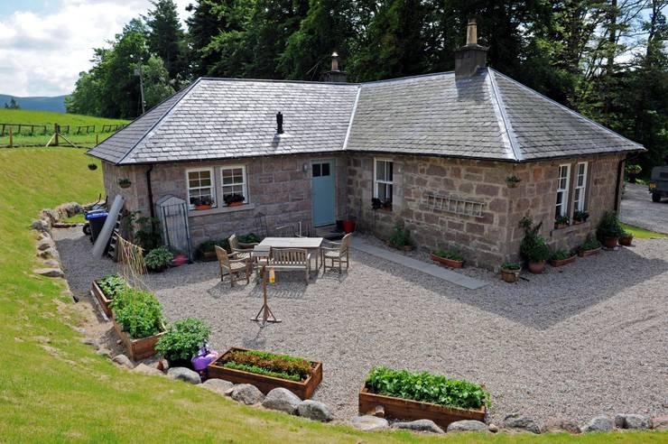 9 splendide facciate per uno stile unico for Stile cottage inglese