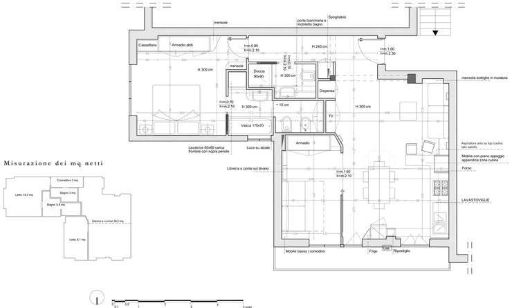 Prima e dopo 5 ristrutturazioni da copiare for Creare planimetria casa