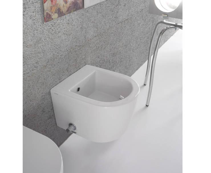 Sanitari bagno piccoli di bagno chic homify for Architec bidet sospeso