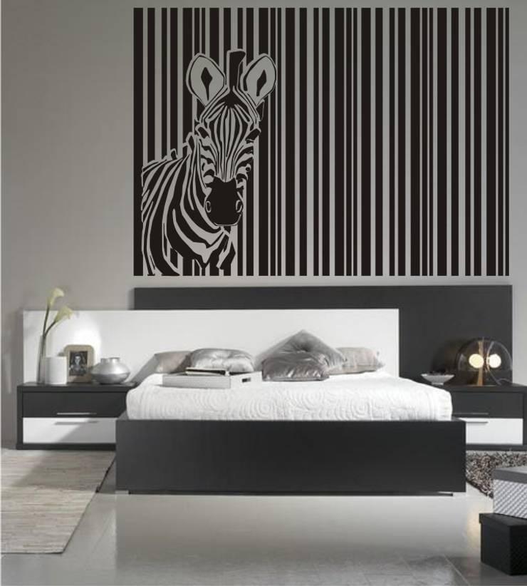 Cabeceros de cama en vinilo decorativos de visualvinilo - Vinilo cabecero cama ...