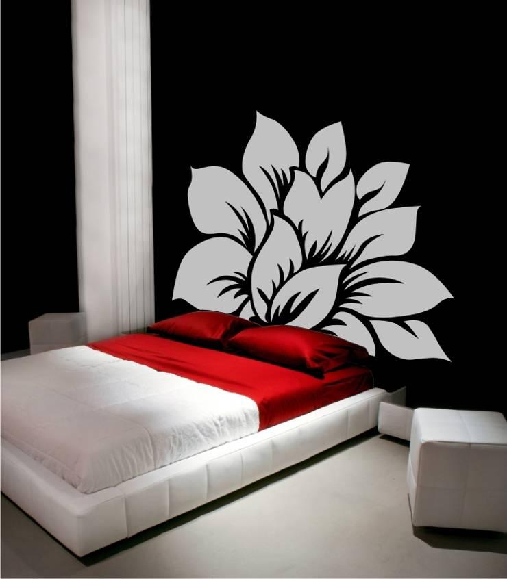 Cabeceros de cama en vinilo decorativos de visualvinilo for Vinilo cabecero cama