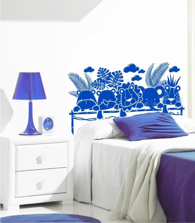 Cabeceros de cama en vinilo decorativos de visualvinilo for Vinilos para cabeceros juveniles