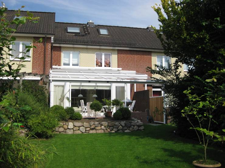 Sanierung reihenhaus mit anbau wintergarten von architekturb ro w rdemann homify - Ph wintergarten ...