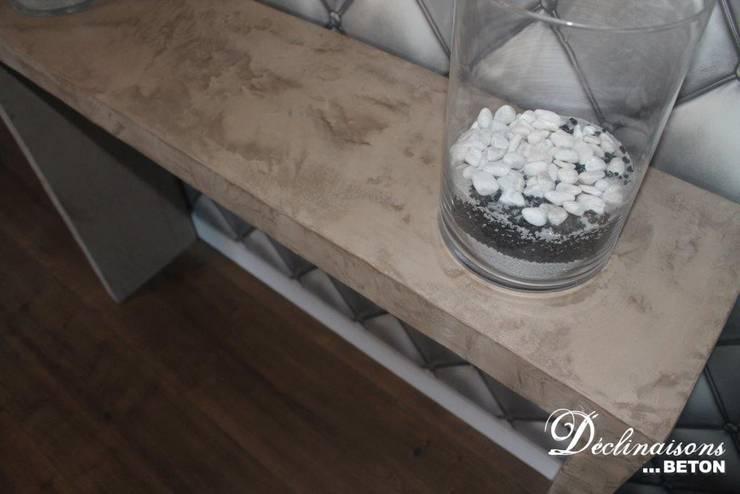meuble en b ton cir mortex par d clinaisons beton homify. Black Bedroom Furniture Sets. Home Design Ideas