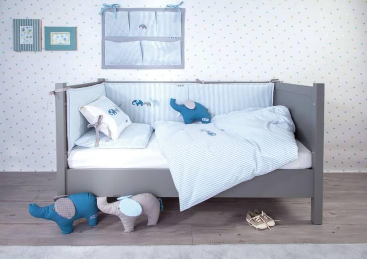 elefanten babyzimmer kinderzimmer von annette frank gmbh homify. Black Bedroom Furniture Sets. Home Design Ideas