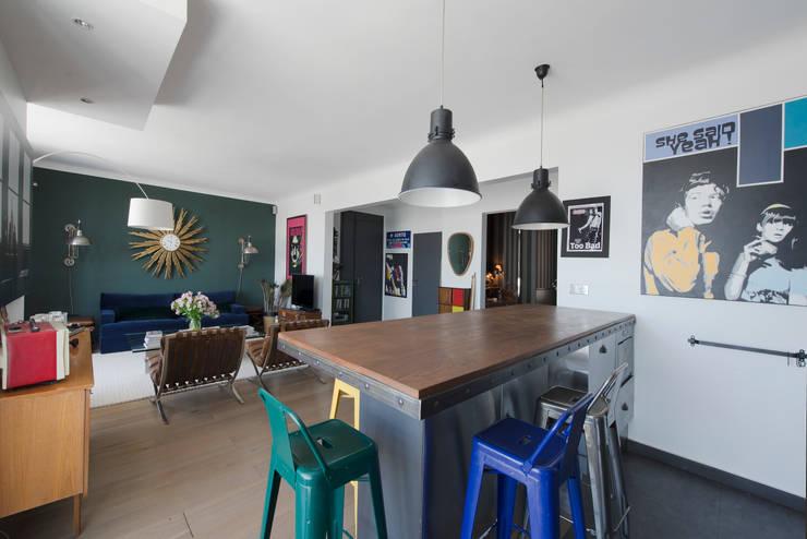Un Appartement Parisien De 100 M Avec Vue