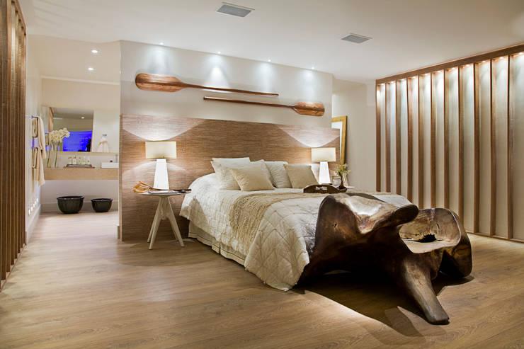 독특한 개성을 지닌 모던 침실 인테리어