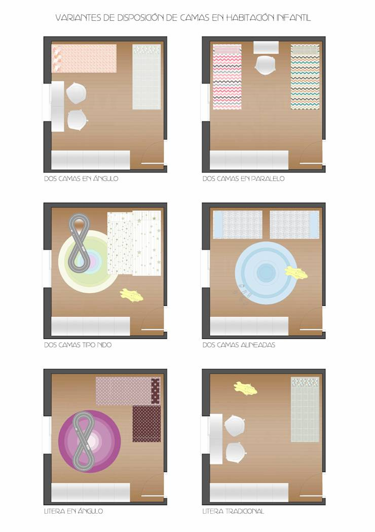 Ideas tiles para amueblar una habitaci n infantil for Ideas para amueblar