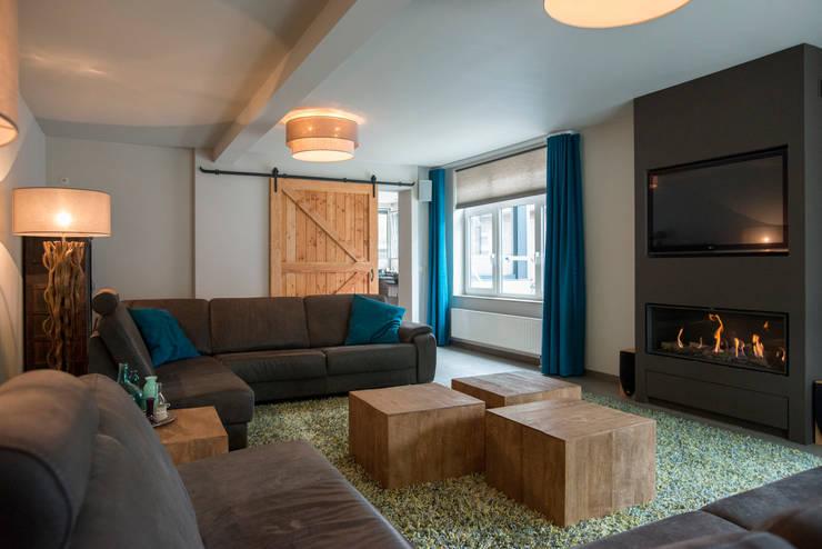 Een prachtige woonkamer voor 2016 - Scheiding meubels ...