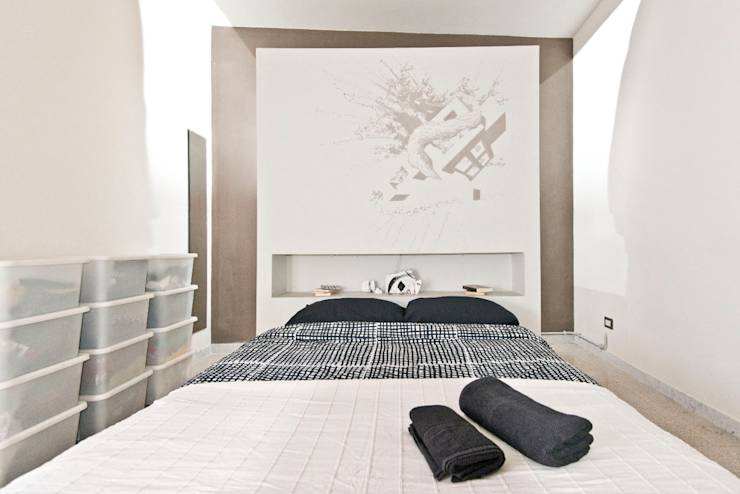 La camera da letto giapponese