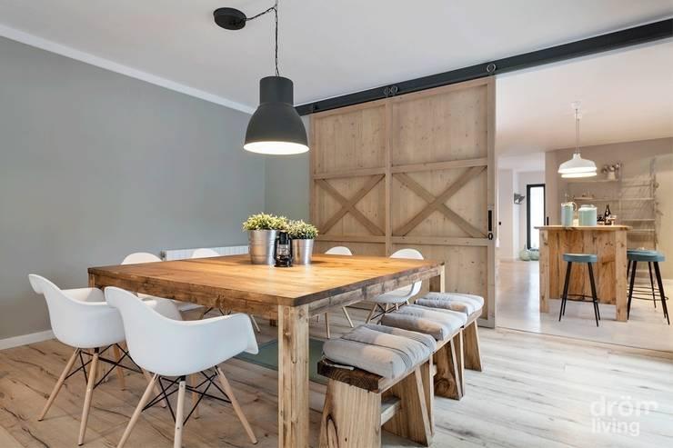 Comedores de estilo escandinavo por Dröm Living
