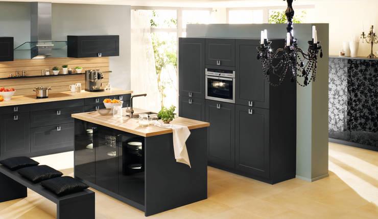 Die 5 schönsten schwarzen Küchen