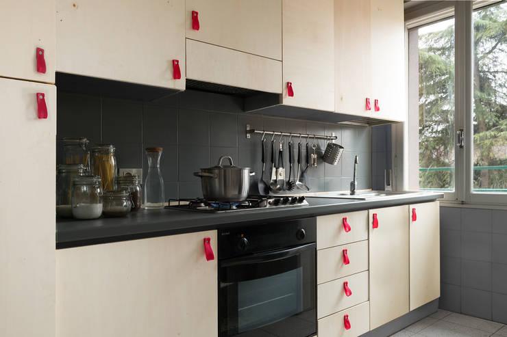 6 cocinas peque as que son grandes for Cocinas super pequenas