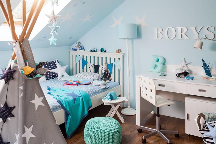 pok j dla ch opca 10 pomys owych aran acji. Black Bedroom Furniture Sets. Home Design Ideas